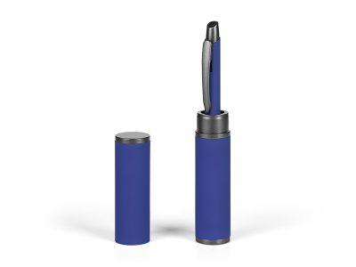Metalna hemijska olovka u metalnoj poklon tubi