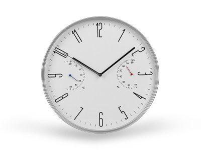 Zidni sat sa meračem temperature i vlažnosti