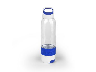 Plastična sportska flašica sa peškirom, 600ml