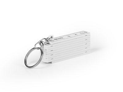 Sklopivi lenjir sa metalnim prstenom