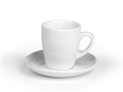 """Porcelanska šolja i tacna za """"cappuccino"""" kafu, 150 ml"""