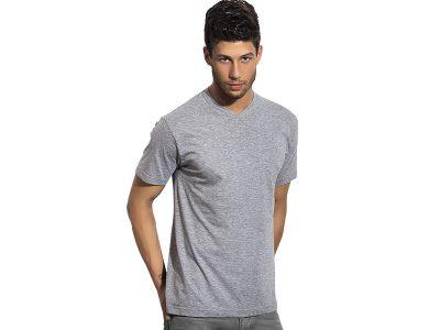Pamučna majica sa V-izrezom