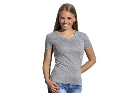 Ženska pamučna majica sa V-izrezom