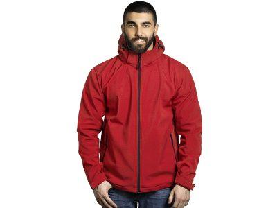 Softshell jakna sa skidajućom kapuljačom