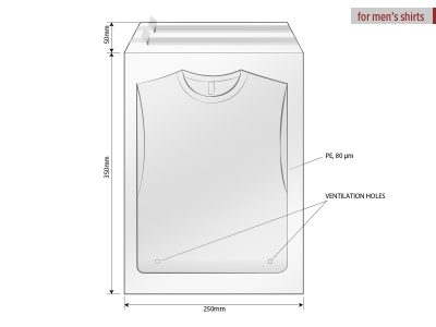 Kesa za pakovanje, dimenzije 25 x 35 cm