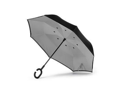 Kišobran sa dva lica i ručnim otvaranjem