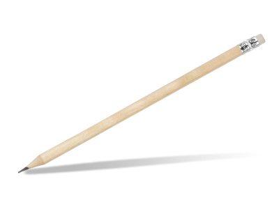 Drvena olovka HB sa gumicom